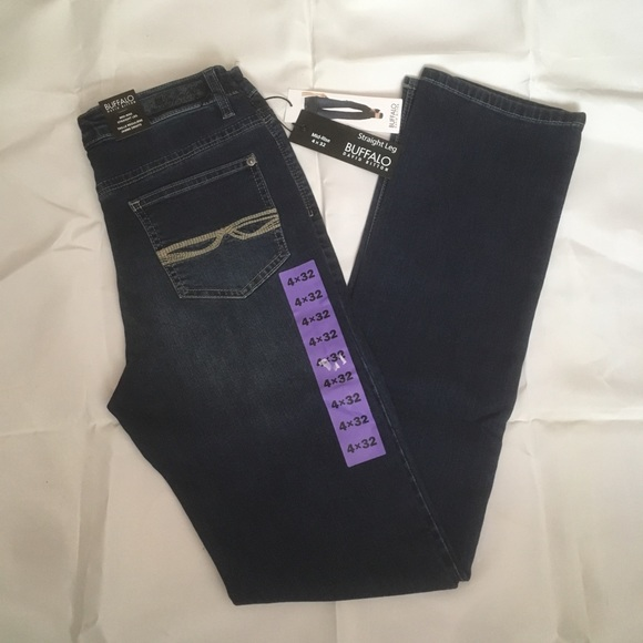 NWT Buffalo David Bitton Misha straight leg jeans